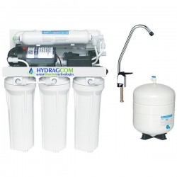 Αντίστροφη όσμωση 5 σταδίων φίλτρανσης με αντλία (HRO5P system)